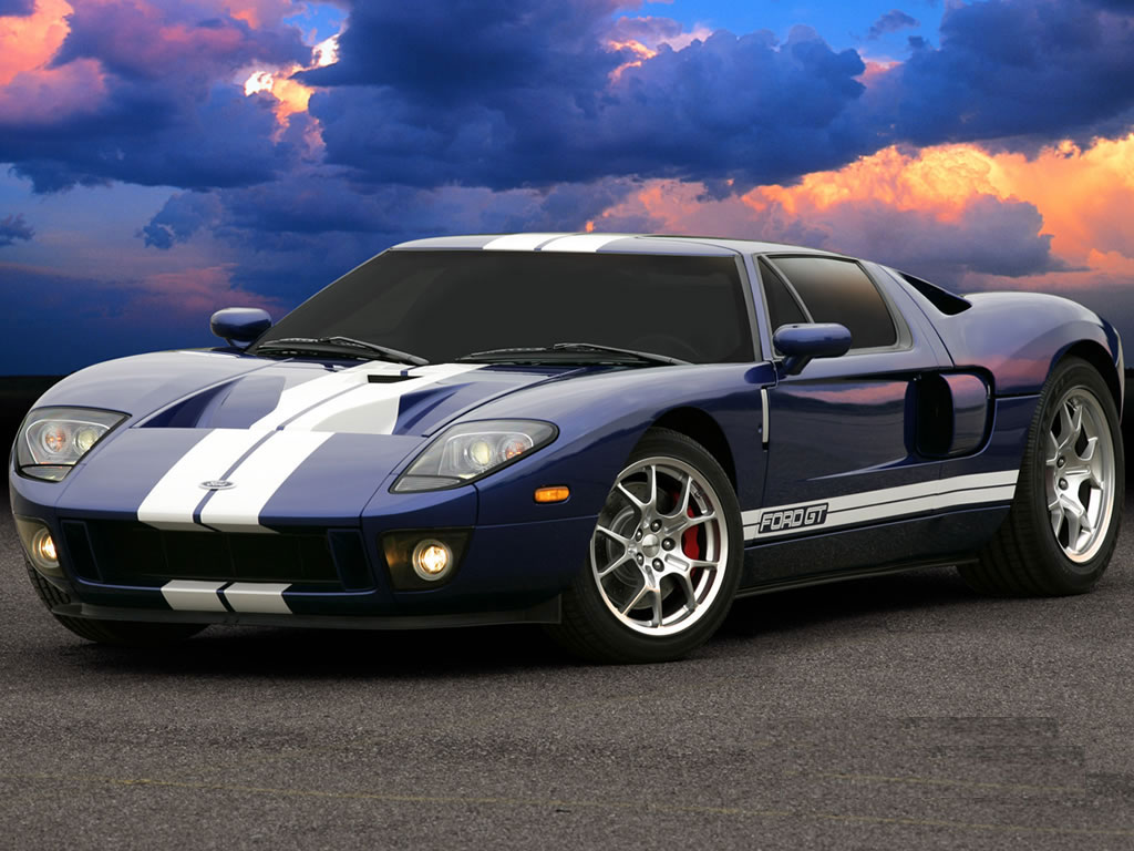 Ford GT & Ford logo | WHITE THREADS markmcfarlin.com