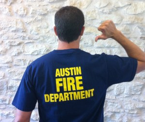Austin fire department t-shirt