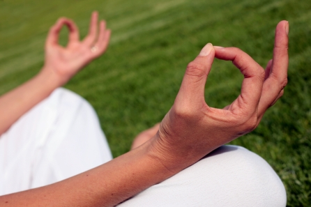 yoga meditation hands
